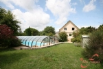 Nontron (24) - An imposing 5 bed property set in extensive private grounds with a covered pool