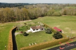 Verneuil (Charente) - 3 bedroom house with stables and 8 acres of paddocks and woodland