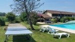 Old Farmhouse with 5 cottages and pool near Marciac - Gers