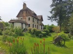 St Savin, Vienne 86: sumptuous villa with view on the abbey