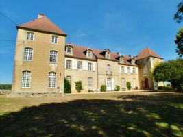 Chateau de Montmartin in the Doubs