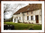 For sale in Limousin, house, barn and garden