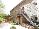 For sale in the Puy de Dome, house with barn and garden.