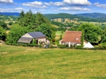 Stone house with gite and land for sale in onlay in the Morvan