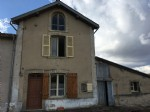 Nice cottage in Haute-Saone, on the edge of the village, with large barn.