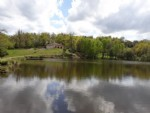 Modern built house overlooking its own 3.5 acre lake set in 12acres of pasture and woodland