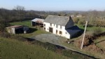 Farm buildings with no close neighbours, sold with 6 500 m² land.
