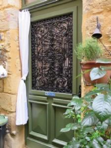 Stone village house in hilltop Bastide village