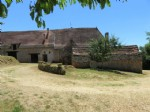 Pretty fermette with 7 hectares and views just outside St Cyprien