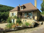 Perigordine style house in the valley of the Dordogne near to Sarlat
