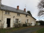 Characterful 4 bedroom house with large garden and views over the Indre countryside.