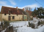 Detached old farmhouse with original features, a large barn and surrounding land