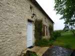 Stone set of old stone house and barn on 13 ha of land - Natural swimming pool