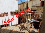 Light village house in Tourbes with terrace, cave and lots of potential!