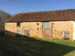Two sizeable barns awaiting renovation