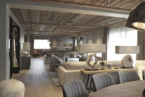 Elegant 6 bedroom Chalet in the Resort of Megeve with beautiful Indoor Pool