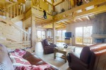 This beautiful chalet is perfectly located on the sunny South hillside of Samoens