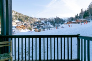 Charming ski in/ski out studio apartment - La Plagne 1800