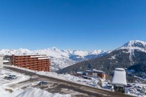 Ski in/ski out studio apartment - La Plagne Aime 2000