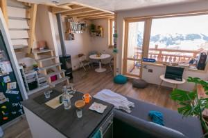 Beautiful ski in/ski out duplex apartment - LA PLAGNE VILLAGE