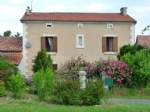 Detached stone farmhouse with pool, gite, land and lake