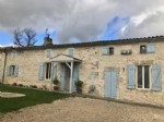 Character house with 2 gites and a heated pool