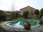 Detached barn conversion with 5 bedrooms and a pool