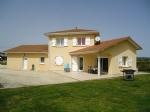 Beautiful villa, on 4500m² land, view over golf course, Faramans, (38260)
