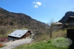 Large plot of land of 1131m² for sale close to the centre of the village of Saint Jean d'Aulps.