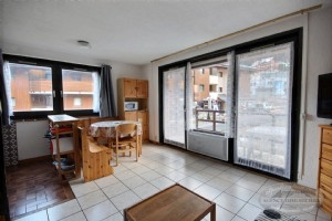 For sale ground floor apartment at the bottom of the slopes of Saint Jean d'Aulps