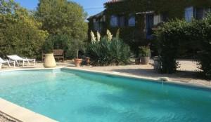 South of France, Lorgues: Provencal Villa, Apartment & Pool.