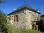 Stone-built house with workshop in peaceful hamlet