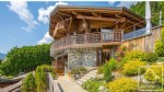 A 5 bedroom, 5 bathroom luxury chalet with panoramic views.