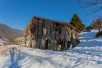 Authentic alpine farmhouse renovation project with outstanding valley views.