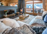 A 4 bedroom, fully en-suite chalet-apartment with swimming pool and fabulous views.