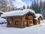 A pair of immaculate chalets close to the Prodains Express lift