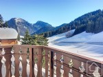French property for sale: A studio apartment for sale on the col du Corbier.