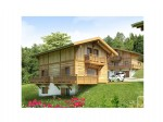 Your brand new 4 bedroomed chalet in a quiet hamlet between St Gervais and Combloux.