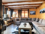A 4 bedroom chalet with 2 bathrooms, balconies and a garden