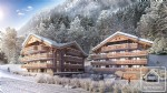 A beautiful 2 bedroom, 2 bathroom new-build apartment on the ski route.