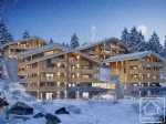 A high quality studio in a chalet-style building with far reaching views