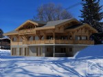 A 5 bedroom, 5 bathroom brand new chalet, with jacuzzi and garden