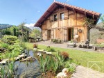 A 4 bedroom, 2 bathroom chalet with well established garden, sold furnished, in a quiet spot