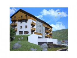 Apartment shell suitable for creating 3 bedrooms, 2 bathrooms