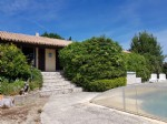 Spacious villa with 125 m² of living space plus garages on 2111 m² with pool.