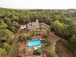 Historic restored chateau with 11 bedrooms, 9 bathrooms on 4.1 ha with pool.
