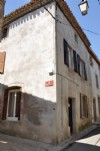 Furnished charming village house with 2 bedrooms with possibility to make a roof terrace.