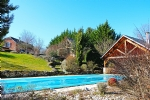 Close to Brive, former barn restored of 230m², garden 3000m², swimming-pool