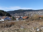 Nice field with view over the Gérardmer lake