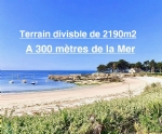 Field to build of 2190m² / 600 meters from the beach